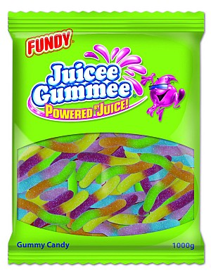 Juicee Gumme Neon Worms